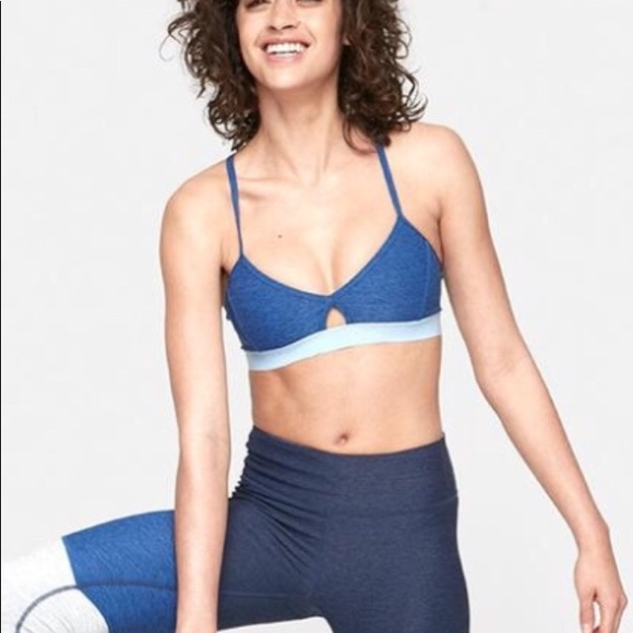 966b980d5b16a Outdoor Voices Steeplechase Bra in Deep Sea - XS. M 5b609c655bbb80791d20cdce
